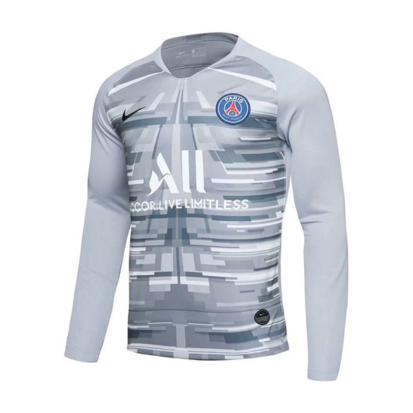 Camiseta Paris Saint Germain Primera ML Portero 2019/2020 Gris